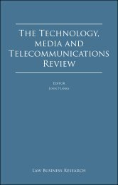 The Technology, media and Telecommunications Review