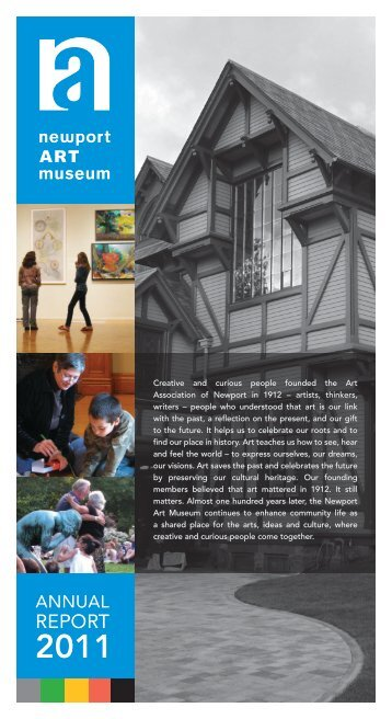 2011 Annual Report - Newport Art Museum