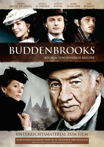 unterrichtsmaterial zum film buddenbrooks - Thomas Mann