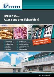 Niederlassungs-Prospekt zum Download - MERKLE Schweißgeräte ...