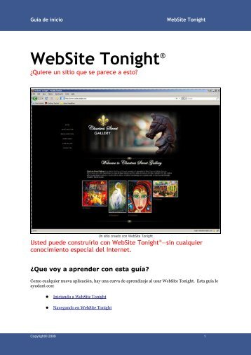 WebSite Tonight