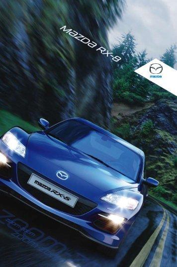 Mazda RX-8 Broschüre herunterladen - Mazda Austria Gmbh