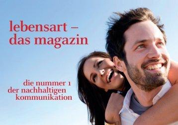 das magazin Verbreitung - Lebensart