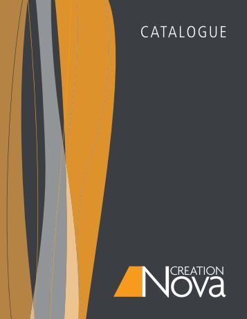TAbLE Of CONTENTS - Creation Nova Lighting