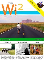 Tour EUCOR Krisenstimmung Ausland - Fachschaft WiWi