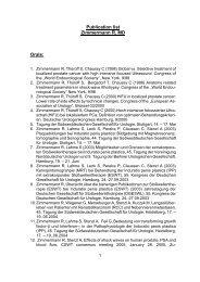 Publikationsverzeichnis Dr