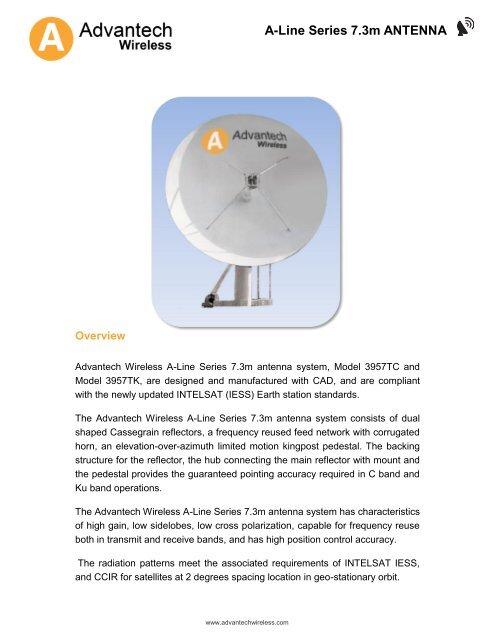 A-Line Series 7 3m ANTENNA - Advantech