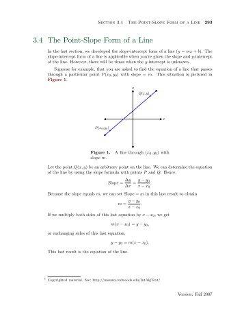 Worksheet 2 2 6 Point Slope Form