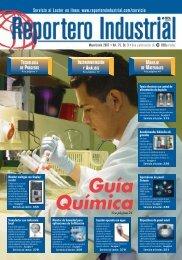 Servicio al Lector en línea: www.reporteroindustrial.com/servicio