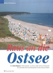 Raus an die Ostsee - Hotel Neptun