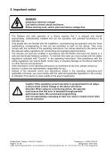 Operating instructions UFR 1000 - ziehl.de - Page 6