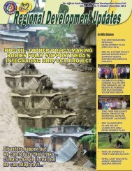 4th Quarter 2011 Issue - NEDA XII - National Economic and ...