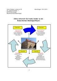 Onlineunterricht für kranke Schüler an der Bismarckschule ...