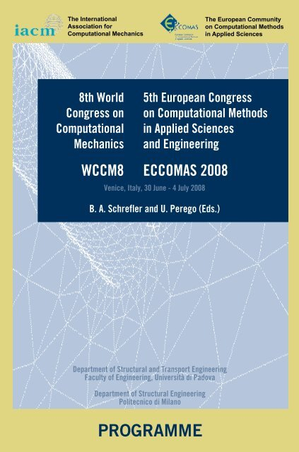 Programme Book Updated May 27 Congress Cimne Com