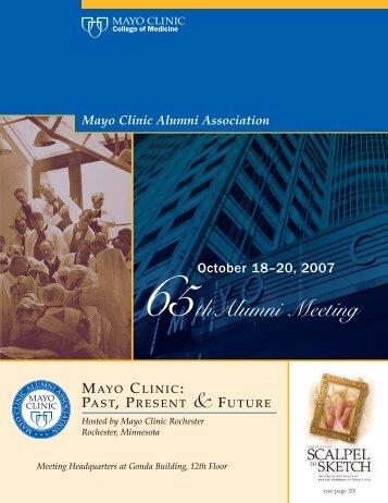 thursday, october 18 - Mayo Clinic