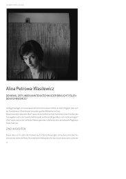 Alina Petrowa-Wasilewicz - Deutsches Polen Institut