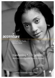 Transforming Public Services:
