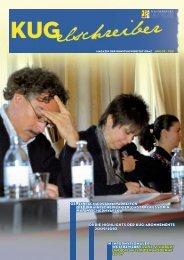 KUGelschreiber - Ausgabe vom Juni 2009 (pdf) - Universität für ...