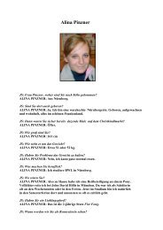 Alina Pinzner - Jockeys in Deutschland