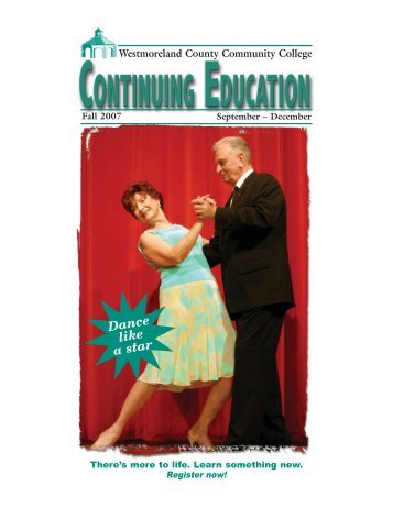 continuing education - Westmoreland County Community College