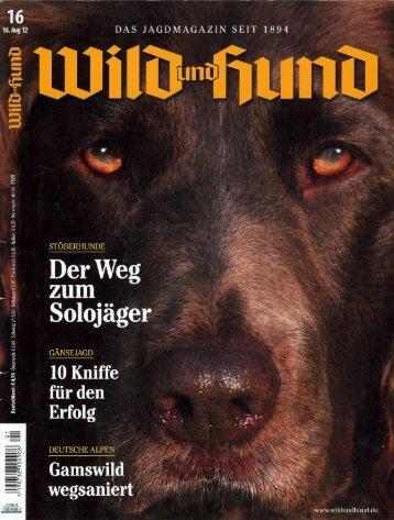16.2012 Wild und Hund S. 20-27 DER - Sektion Franken