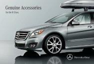 Genuine Accessories - Ray Catena Mercedes Benz