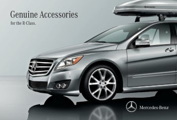 Genuine Accessories - Ray Catena Mercedes Benz