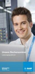 Unsere Rechenzentren -Leistungsspektrum - BASF IT Services