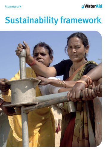 12822 Sustainability Framework A framework for ... - WaterAid