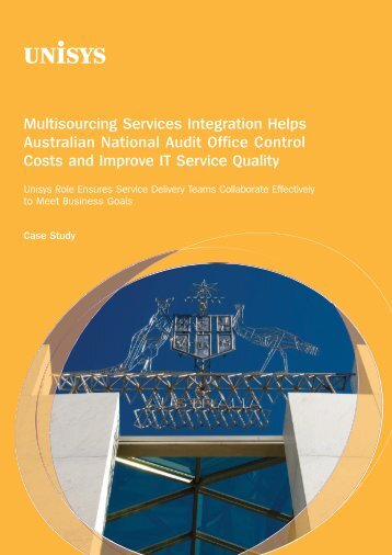 Multisourcing Services Integration Helps Australian ... - Unisys
