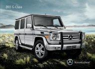 2011 G-Class Brochure - Mercedes-Benz USA