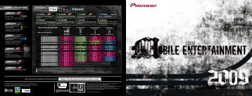 (2 Ω)/200 W RMS x 1 - Pioneer Electronics USA