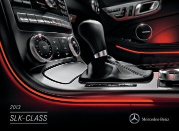 2013 Mercedes-Benz SLK-Class brochure - Mercedes-Benz USA
