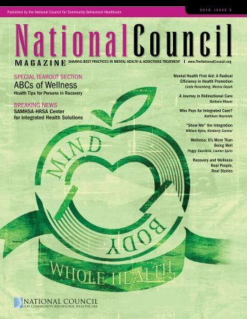 ABCs of Wellness - The National Council