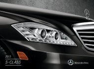 Download The S-Class Brochure - Mercedes-Benz USA