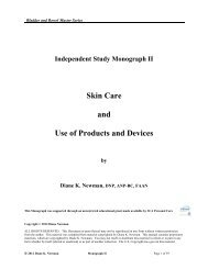 Independent Study Monograph II Skin Care and ... - Seek Wellness