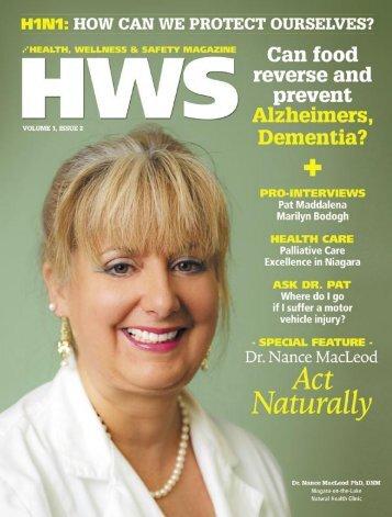 WWW.HWSMAG.COM HWS HEALTH, WELLNESS & SAFETY ...