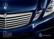 2013 E-Class Sedan and Wagon brochure - Mercedes-Benz USA