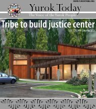 Check out the December newsletter (click to download - Yurok Tribe