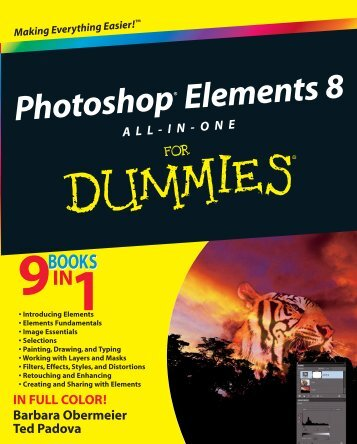 Photoshop Elements 8 All-in-One For Dummies - Index of