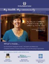 My health. My community. - Tri-City Medical Center