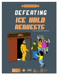 defeat ICE hold - National Immigration Project of the National ...