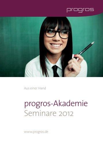 AkademieSeminar2012_neueTermine Mai.indd - progros ...