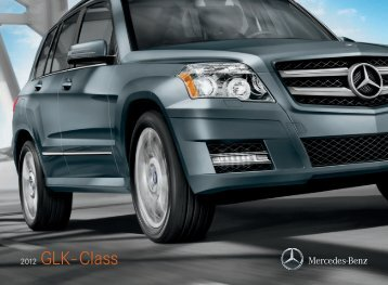Download The GLK-Class Brochure - Mercedes Benz USA