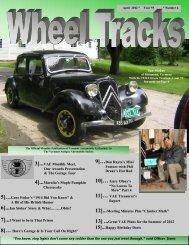 April 2012 - Vermont Automobile Enthusiasts