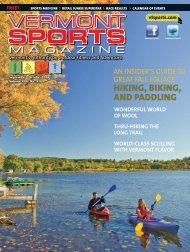 VS Sept FINAL.indd - Vermont Sports Magazine