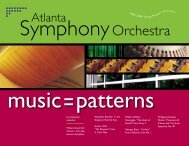 1894-1978 - Atlanta Symphony Orchestra