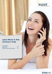 1 xqisit iPhone & iPad accessory range - 1000 Ordi