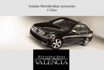 Genuine mercedes benz accessories clk class partes for Accessories for mercedes benz c class