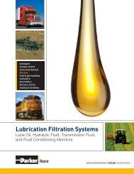 Lubrication Filtration Systems - Parker Hannifin Corporation